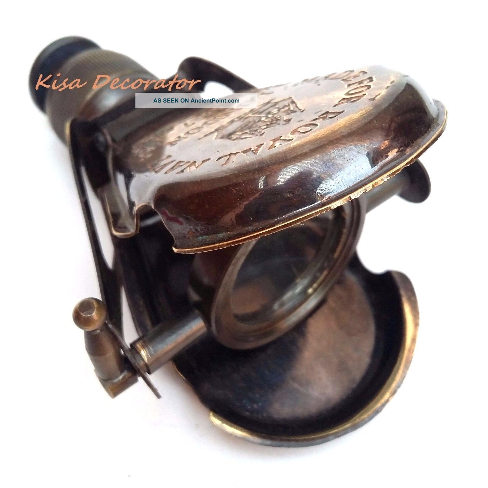 Brass Telescope Monocular Antique Made For Royal Navy London 1917 For Gift & Use Telescopes photo
