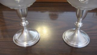 Preisner Sterling Silver Compote Candy Pedestal Dishes photo