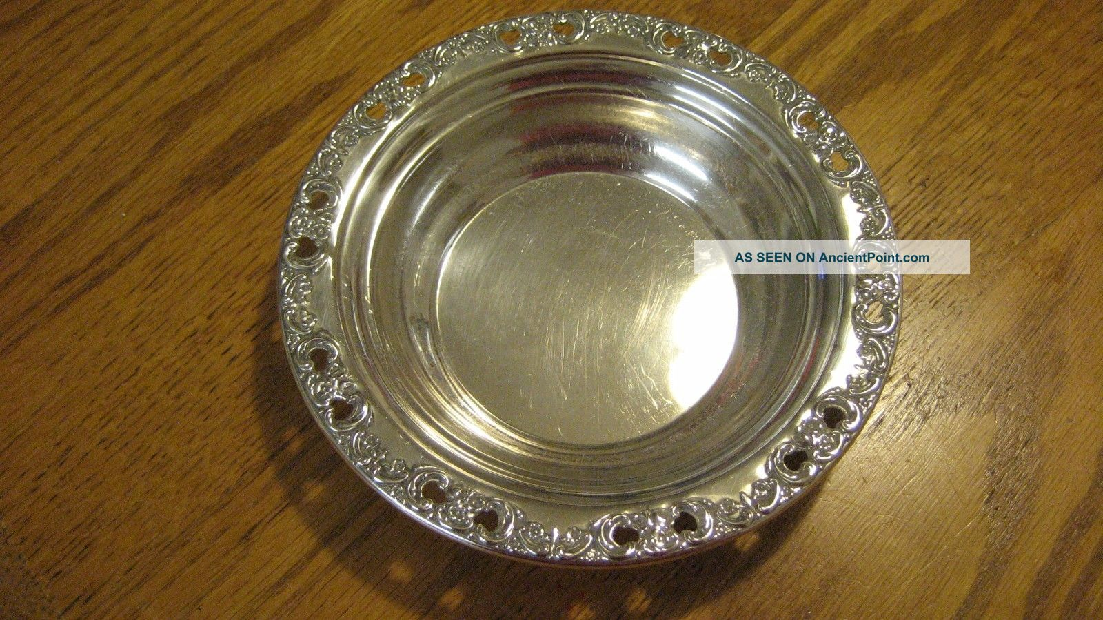 Reed & Barton Florentine Lace Sterling Silver Bowl Bowls photo