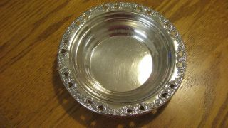 Reed & Barton Florentine Lace Sterling Silver Bowl photo