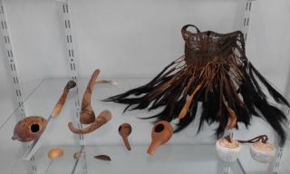 Very Old Bilum - Papua Guinea - 39 Pightails And Very Old Items photo