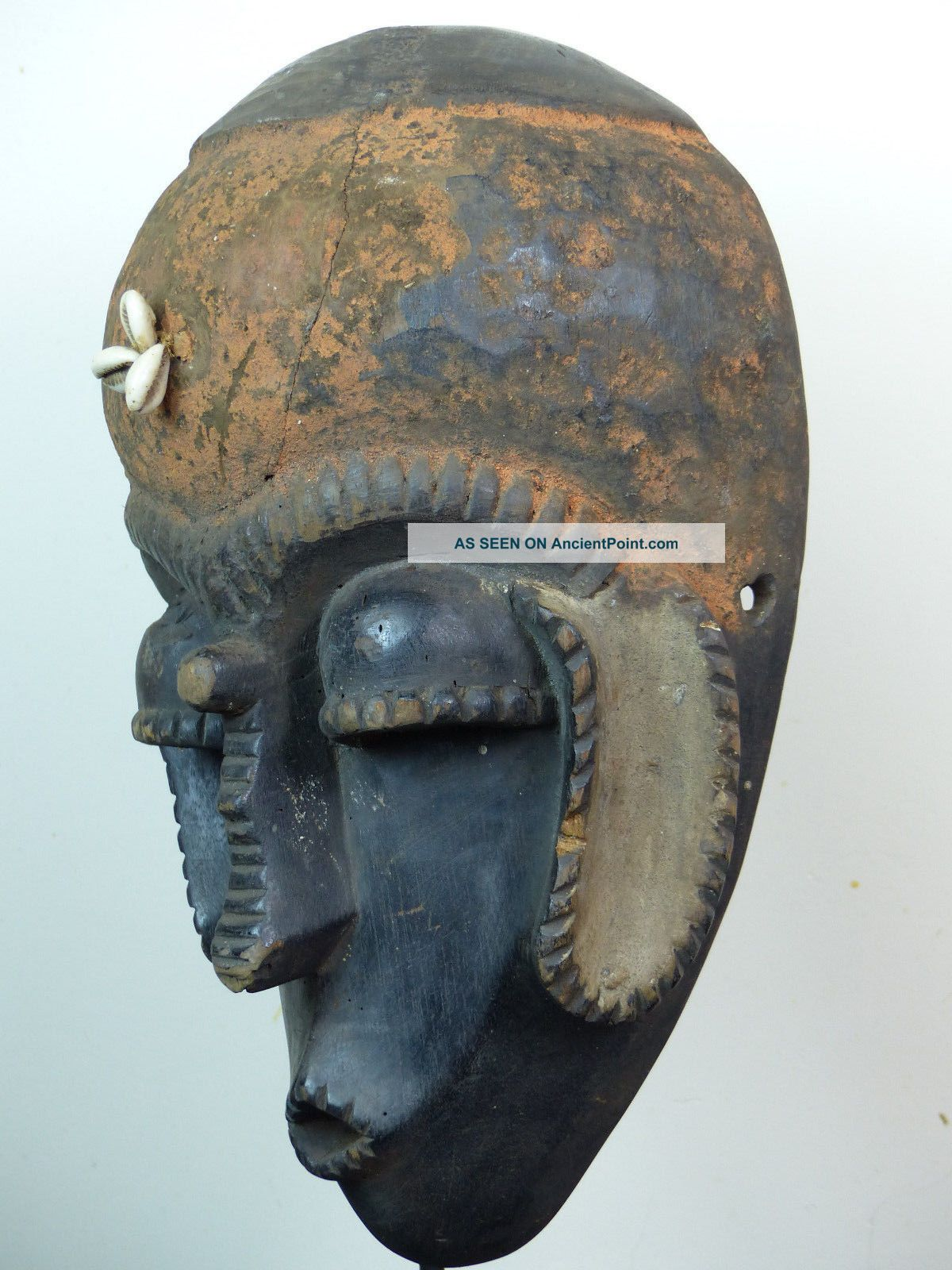 Rare Azanda Mask Other African Antiques photo