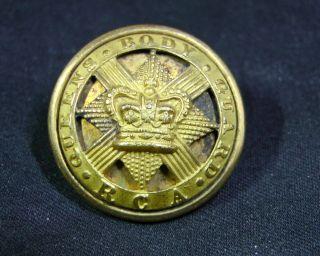 1840 Qvc Royal Company Archers Queens Bodyguard Scotland 23mm Button P&s Firmin photo