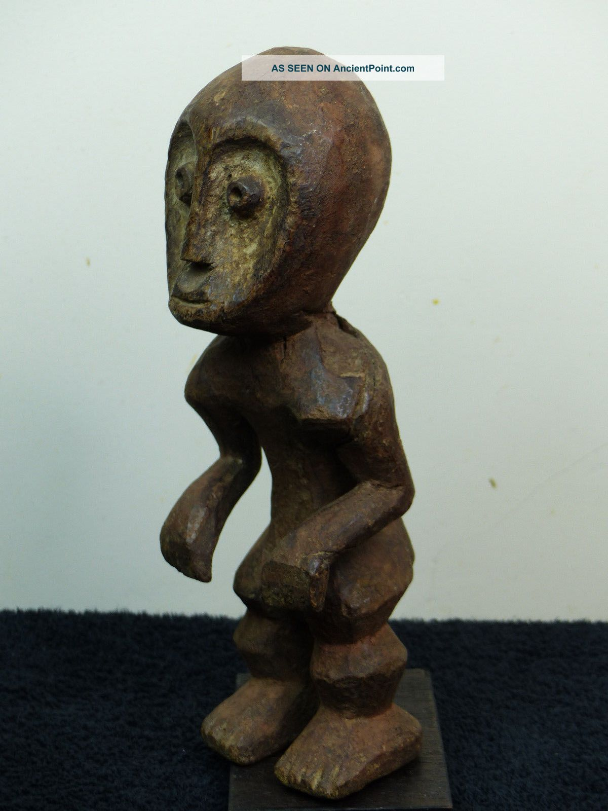 Authentic Lega Figure Dr Congo Other African Antiques photo