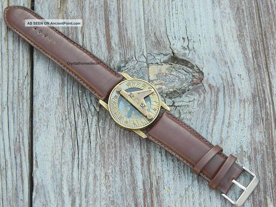 Sundial Compass Wrist Watch Compasses photo