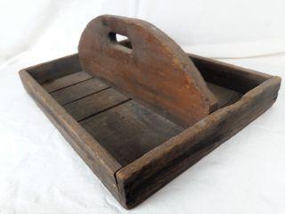 Primative Farm Tray (shabby Chic) Tool Box B528 photo