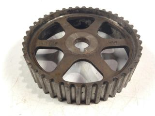 4 - 3/4 In Gear Industrial Steampunk Repurpose Sprocket Vintage Pulley Craft Art photo