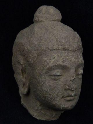 Ancient Stucco Buddha Head Gandhara/gandharan 200 Ad Stc199 photo