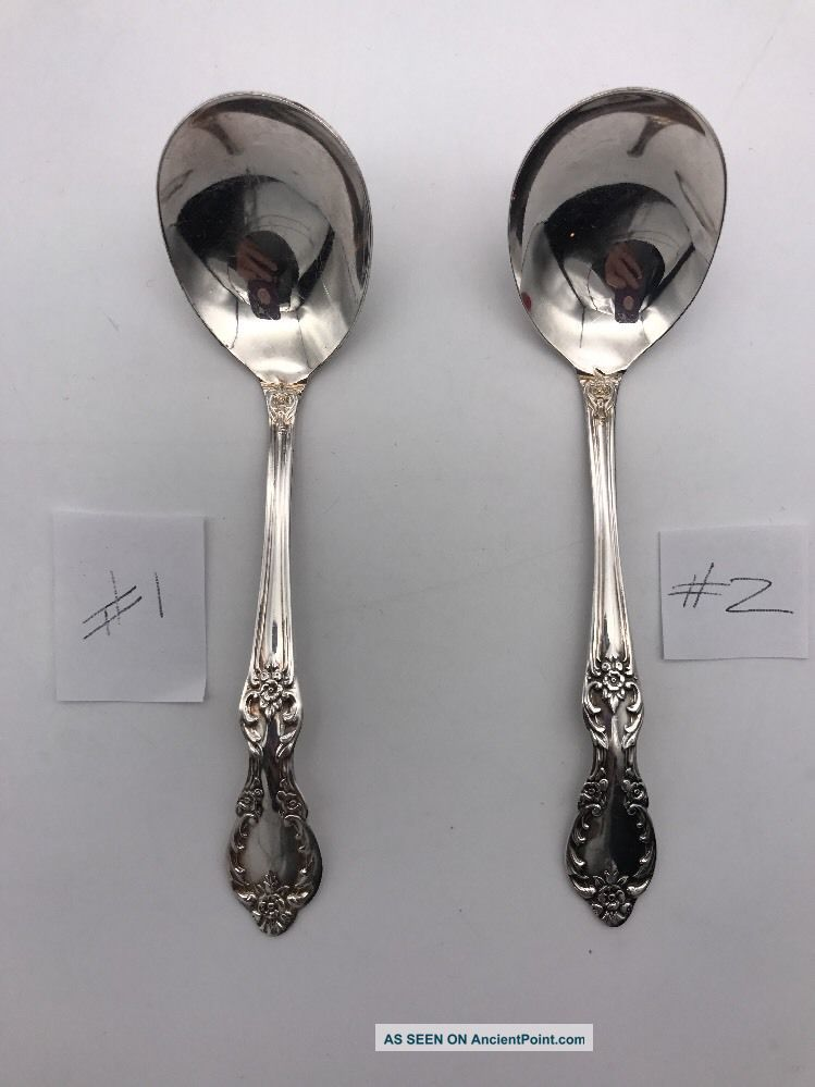 Rogers Silverplate Grand Elegance Southern Manor 5 - 1/2