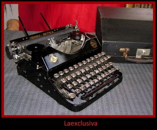 Antique Urania Piccola Typewriter 1920s ; Rare Specimen (video,  Pictures Inside) photo