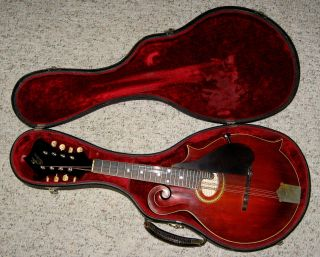 Gibson F2 Mandolin In Case Built In 1916 photo