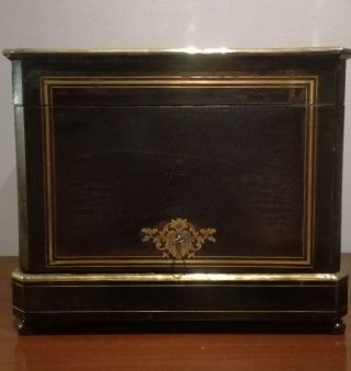 Antique French Liquor Cabinet Tantalus Cave A Liqueur Louis Phillipe 1830c photo