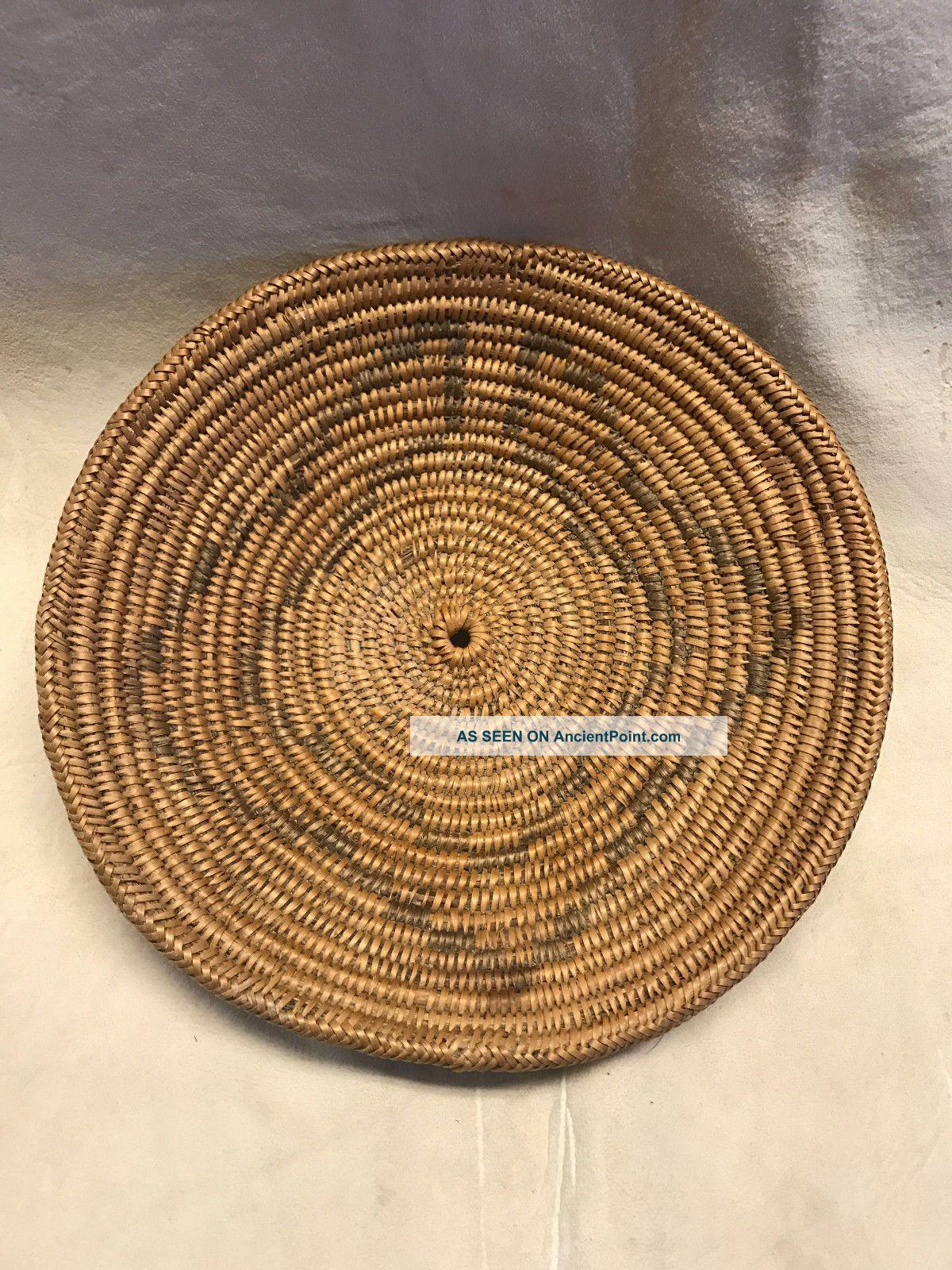 Early Native American Navajo Jicaria Apache Basket Native American photo