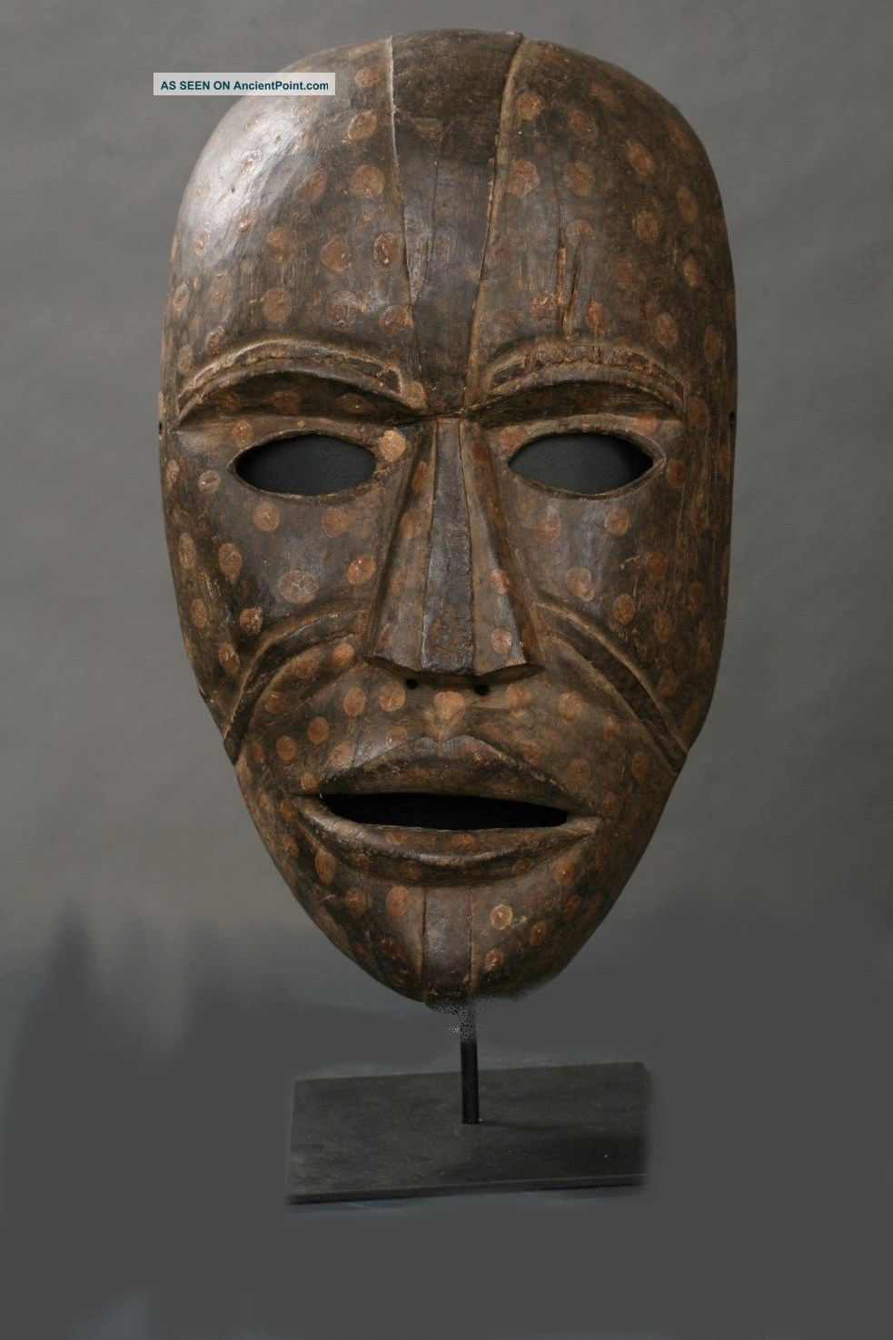 Authentic Large African Woyo Mask,  Very Scarce Masks photo