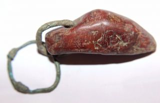 Celtic Decorative Stone Hammer Amulet 100 Bc photo