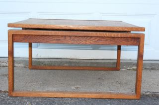 Jens Risom Mid - Century Modern Coffee Table photo