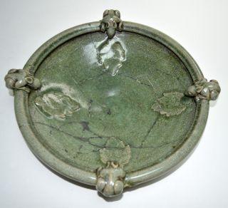 Large Chinese Celadon Porcelain Basin photo