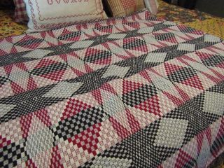 Primitive Textile Coverlet - 36