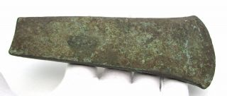 Huge Early Bronze Age Copper Flat Axe - Rare Ancient Historical Artifact - F356 photo