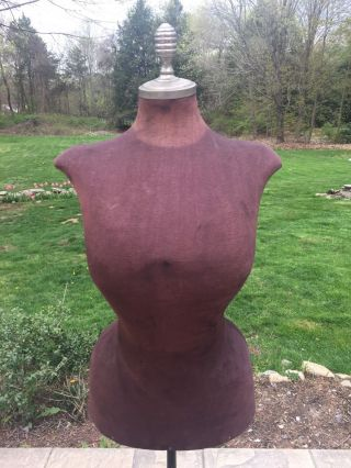 For Millieantique Wasp Waist Mannequin Dress Form 19th C Victorian Store Display photo