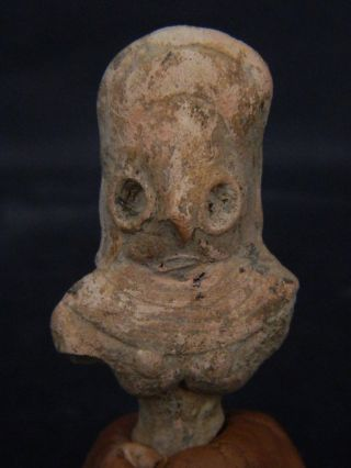 Ancient Teracotta Mother Goddess Torso Indus Valley 2000 Bc Tr15418 photo