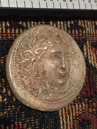 Ancient Greece Unknown Silver /bronze/copper Tetradrachm Amphipolis Macedon Coin photo