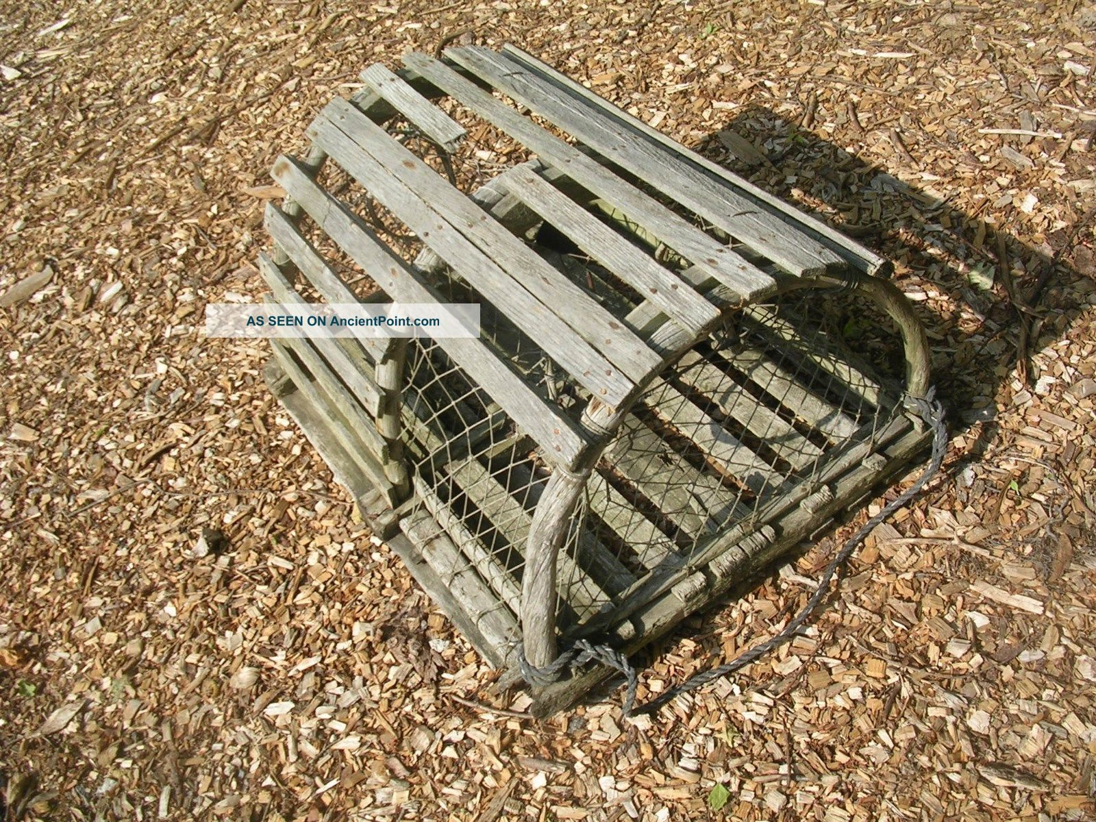 Wooden Crab Trap
