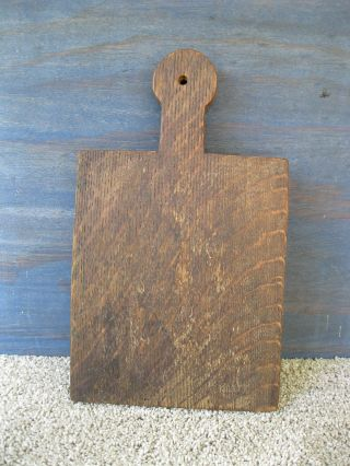 Vintage Bread Board Primitive Country 12 - 1/2