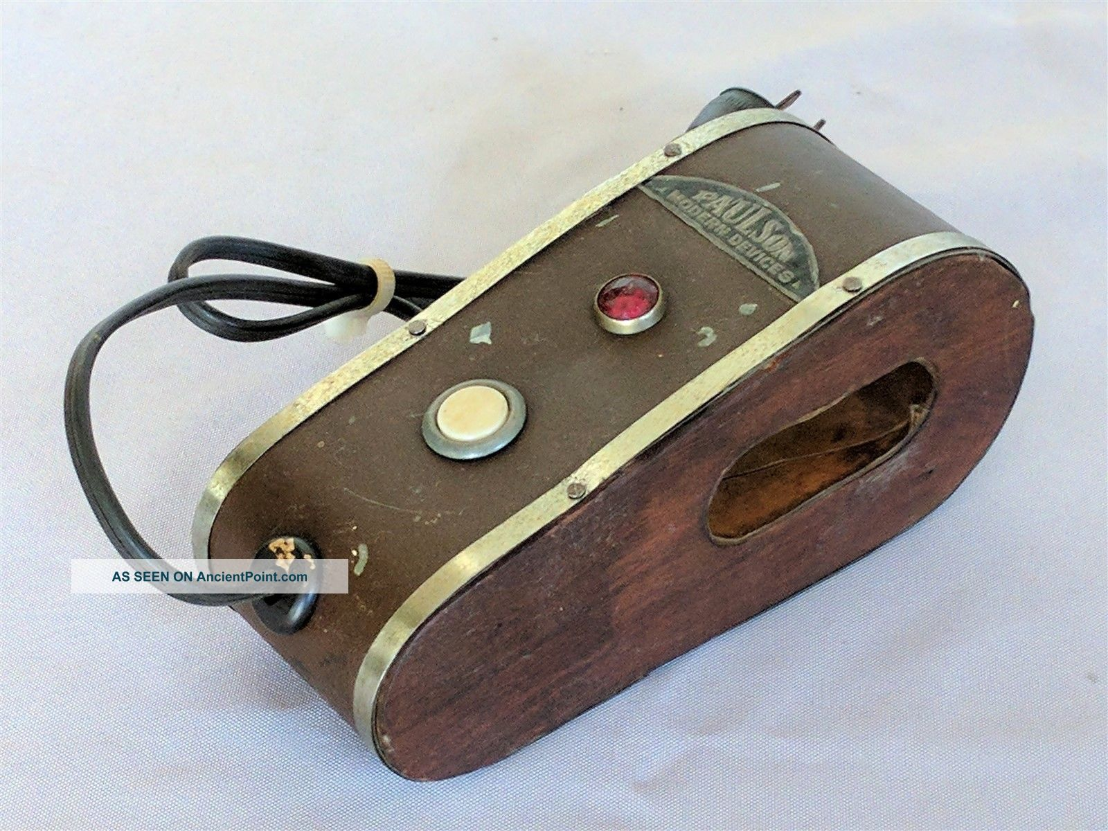 Antique Watch Demagnetizer By Paulson Modern Devices / Early 20th Century Other Antique Science Equip photo