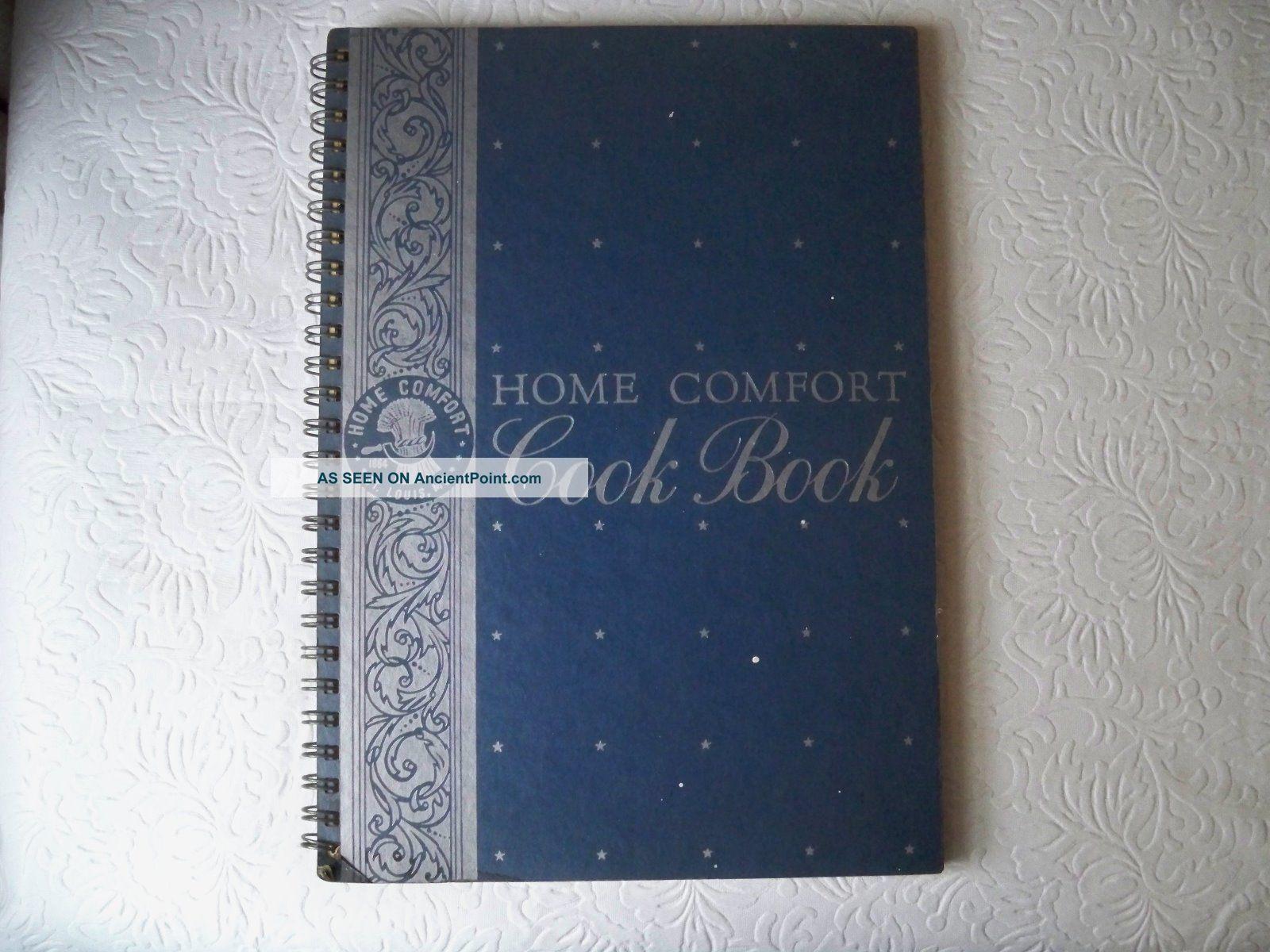 Home Comfort Cook Cook 1938 Vintage Cookbook For Home Comfort Ranges Usa Stoves photo
