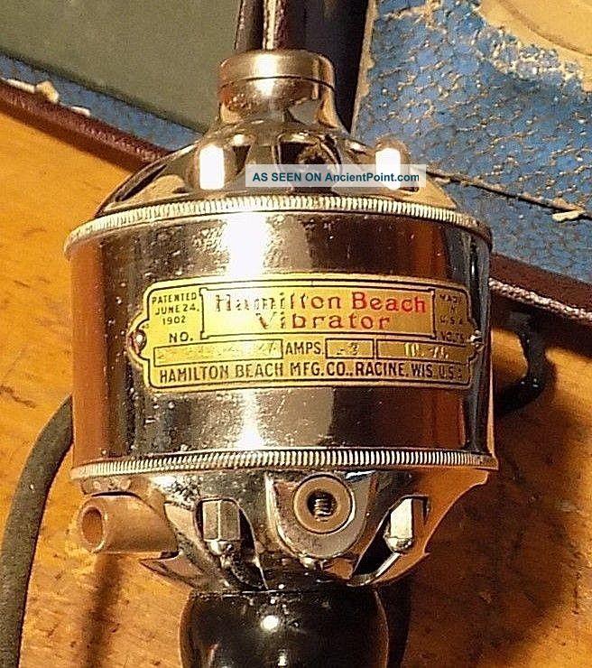 beach type vibrator Hamilton f