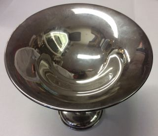 Preisner 205 Vintage Sterling Silver Weighted Compote Candy Dish Bowl 221 Grams photo