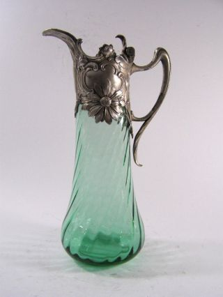 Art Nouveau Claret Jug - Decanter - Wmf photo