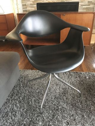 Eames George Nelson Herman Miller Swag Leg Daf Shell Chair Mid Century Modern Kn photo