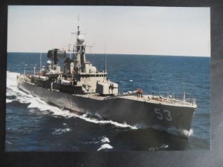 Naval Hmas Torrens (de53) Welcome Aboard (flimsy) 1990 ' S photo