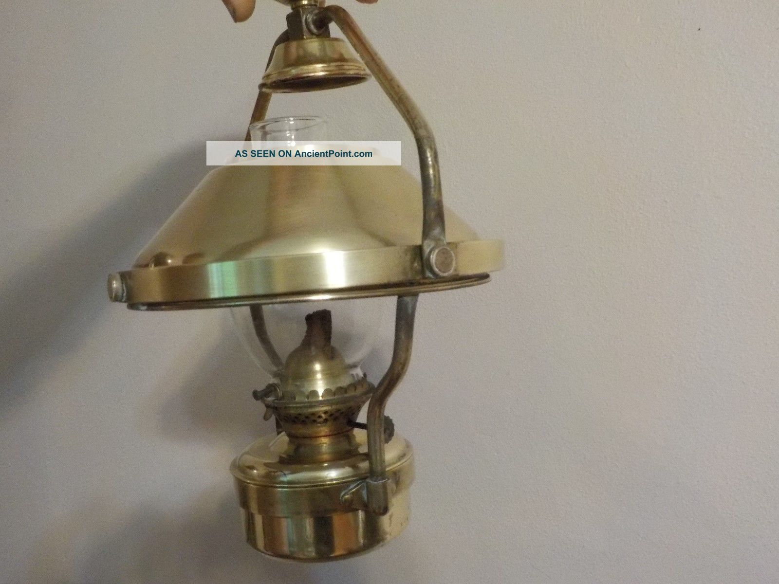 Brass Oil Lamp For Boats Lamps & Lighting photo