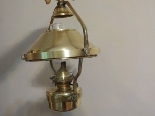 Brass Oil Lamp For Boats photo