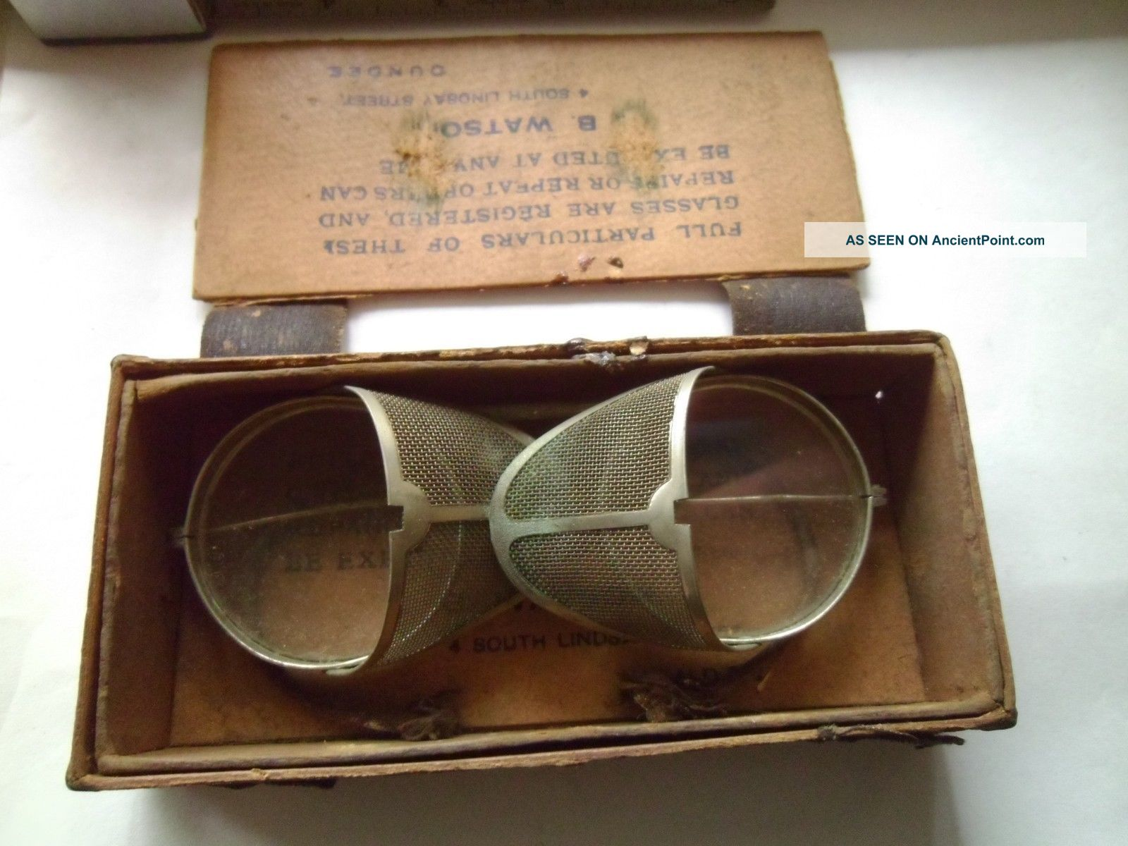 Rare Antique Eye Glasses From 1900's J.  B.  Watson Optical photo