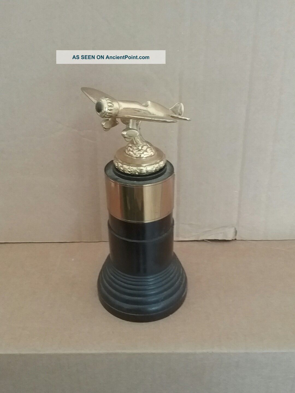 Dodge Art Deco Flying Club Airplane Trophy 40 ' S - 50 ' S Art Deco photo