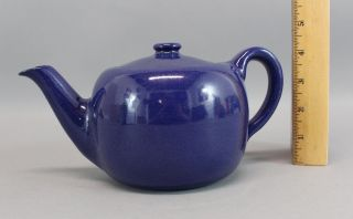 Antique Seg Saturday Evening Girls,  Art & Crafts,  Blue Art Pottery Teapot,  Nr photo