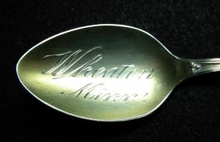 Wheaton,  Minnesota Sterling Silver,  Souvenir Spoon photo