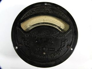 Antique Large Weston Voltmeter No 64445 - 150 To,  150 Volts – photo