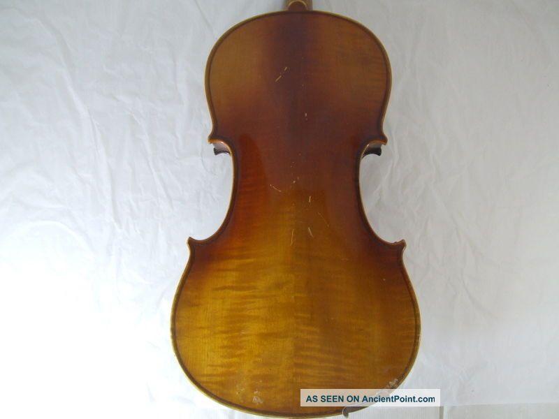 1920s Feine 4/4 Hi Geige Violin Masakichi Suzuki No4 Mij Japan Antique String photo