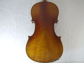 1920s Feine 4/4 Hi Geige Violin Masakichi Suzuki No4 Mij Japan Antique photo