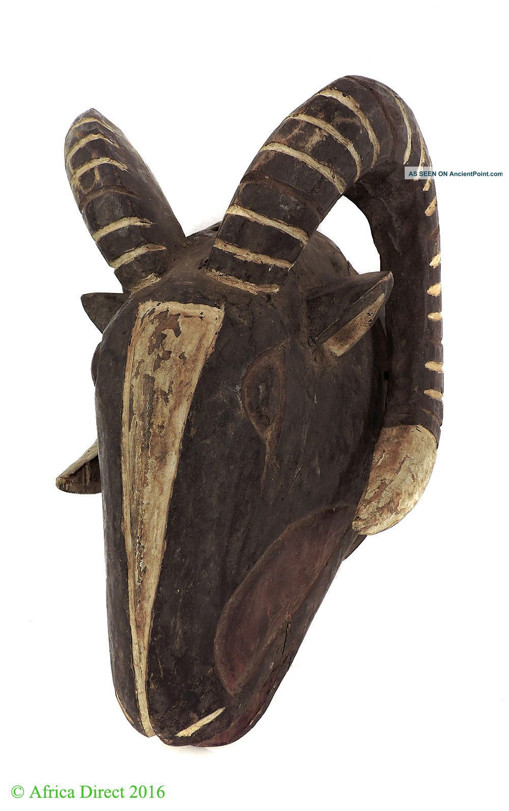 Bobo Mask Ram With Horns Burkina Faso African Art Was $145.  00 Masks photo