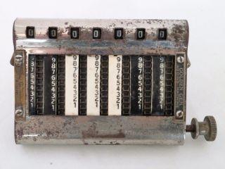 Antique 1907 Golden Gem Adding Machine Pocket Sized photo