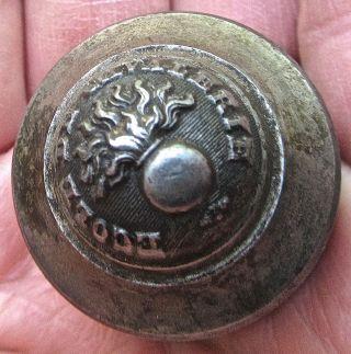 Antique Uniform Button Die Punch Ecole De Cavalerie Mold France French Military photo