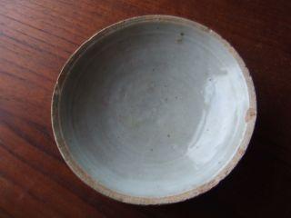 China.  Sung Dynasty.  12th/13th Century Blueish Glazed Pottery Dish, photo