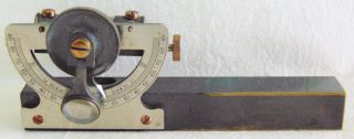 Vintage E.  R.  Watts & Son Abney Level Surveyors Pocket Clinometer / Case photo