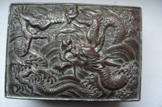 Vintage Dargon Box Chinese / Japanese 1890,  S Small photo